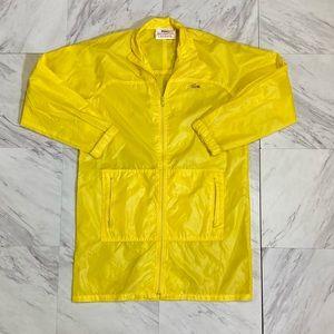 Vintage Lacoste rain jacket